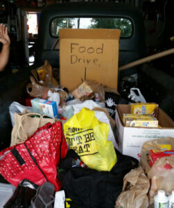 Flynn International supports the local food bank and pays it forward