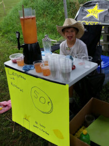 Amy's Lemonade Stand helping to support the Food Bank with Flynn International